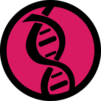 DNA Crime Stains Icon